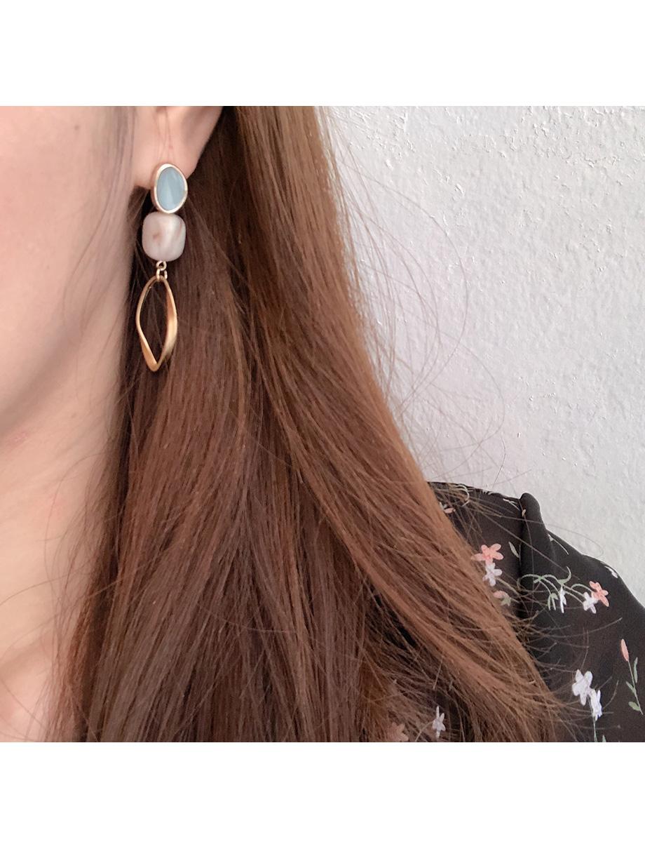 동그링 라운드 귀걸이