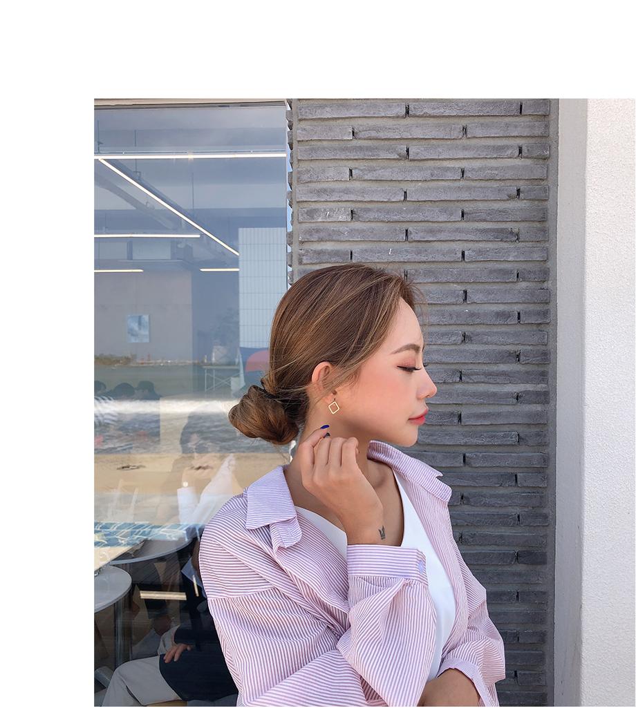 리리앤코 네모꿈 스퀘어 귀걸이