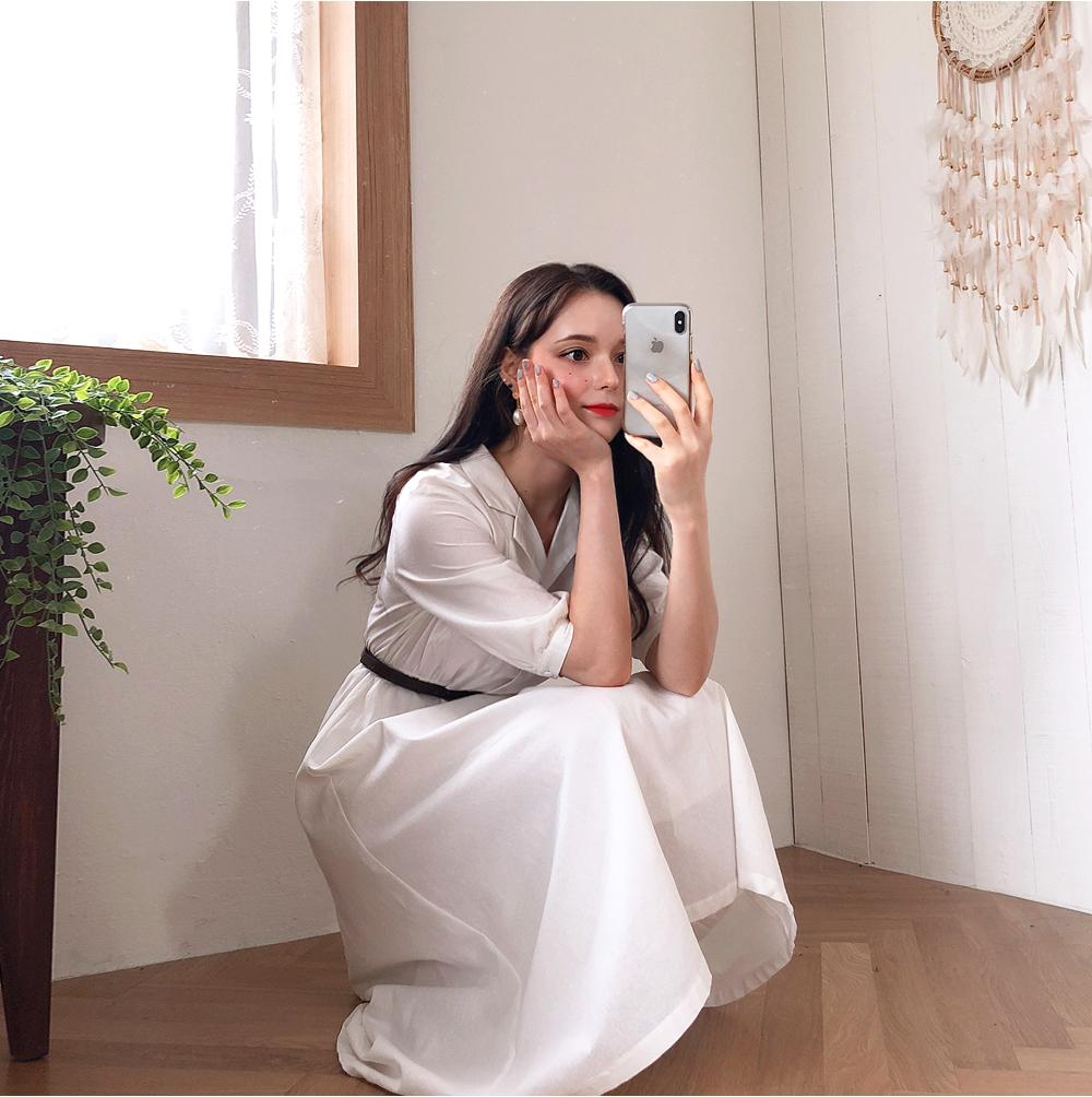 스완송 벨트 원피스