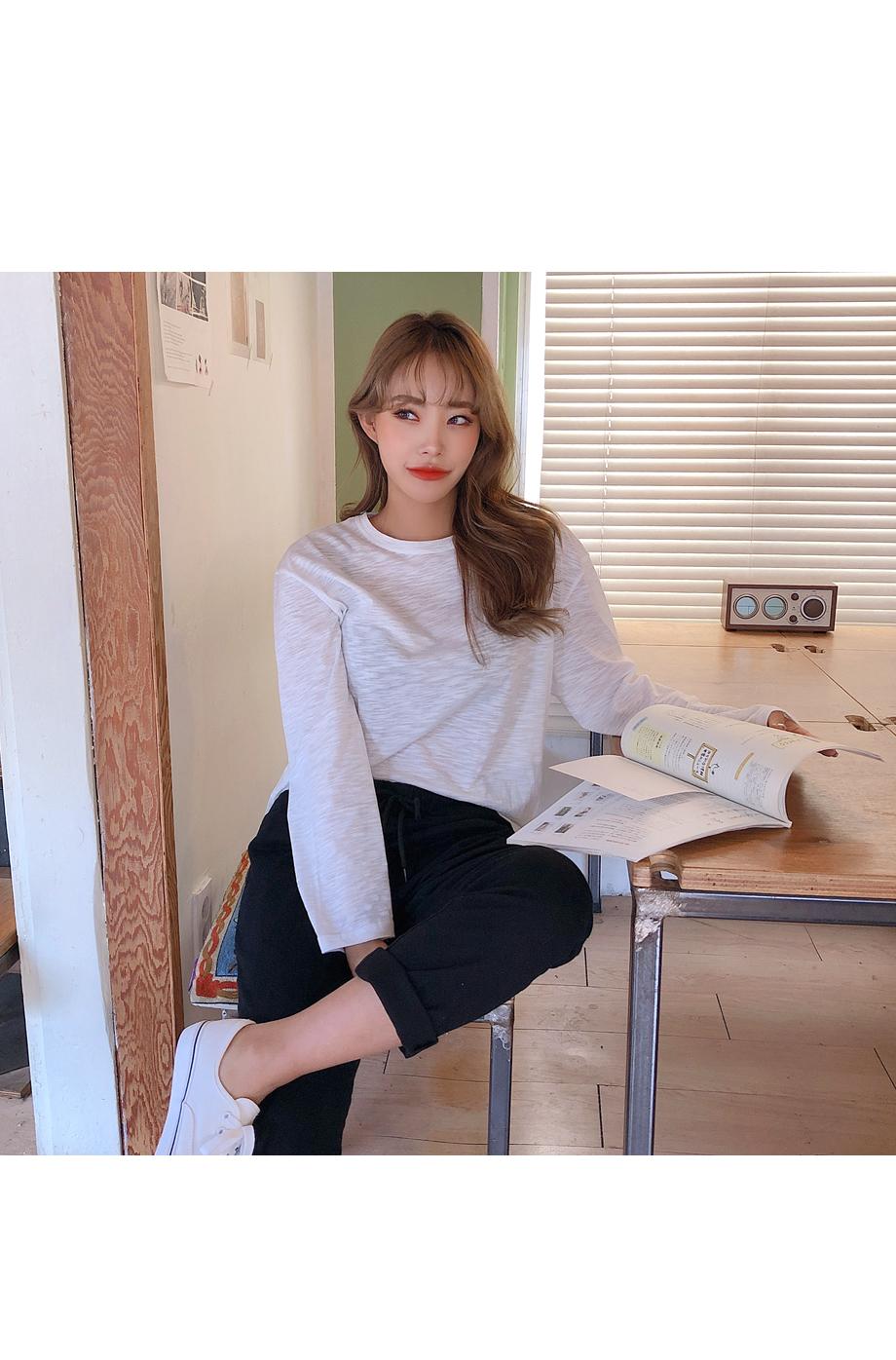 리리앤코 텐션팡 밴딩 팬츠