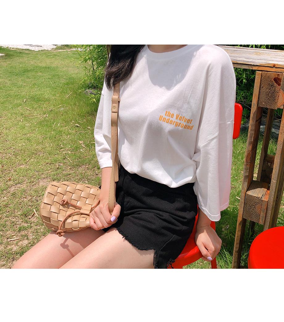 리리앤코 지그밍 프린팅 티셔츠