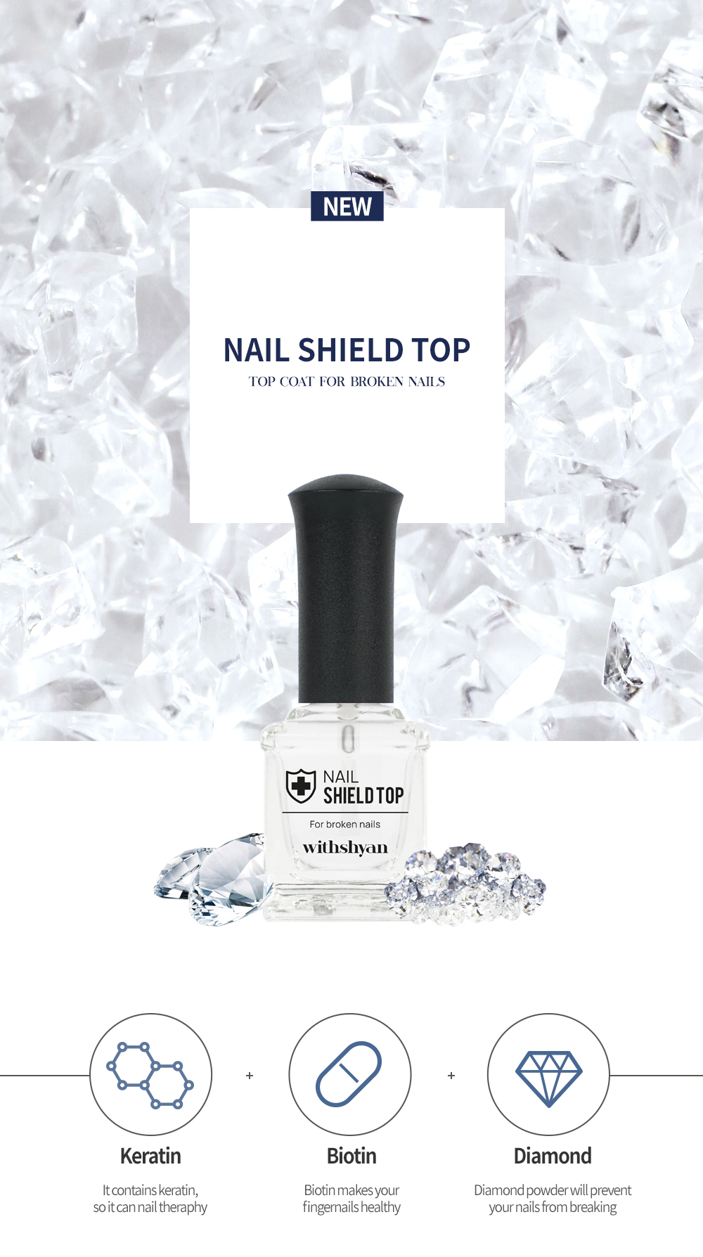 Feature of Nail Shield Top Coat