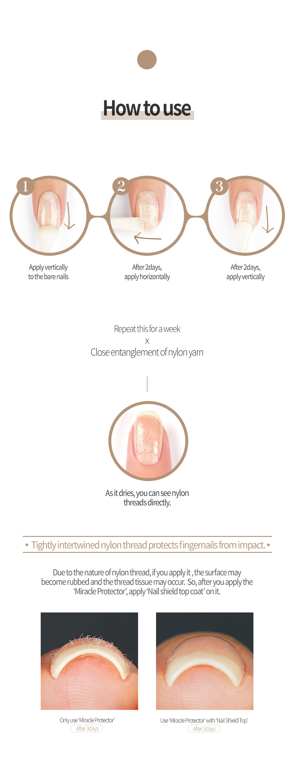 Feature of Nail Protector & Harddener