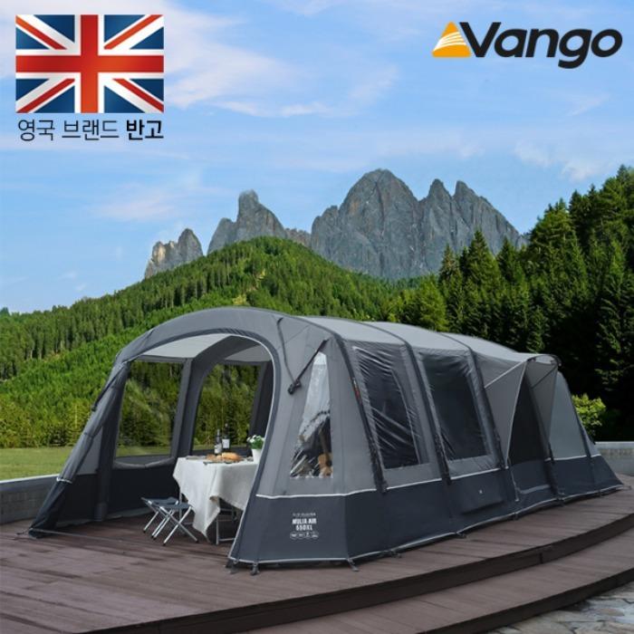 반고 뮬리아 550XL 에어텐트 5인용 에어빔 터널타입 대형 텐트