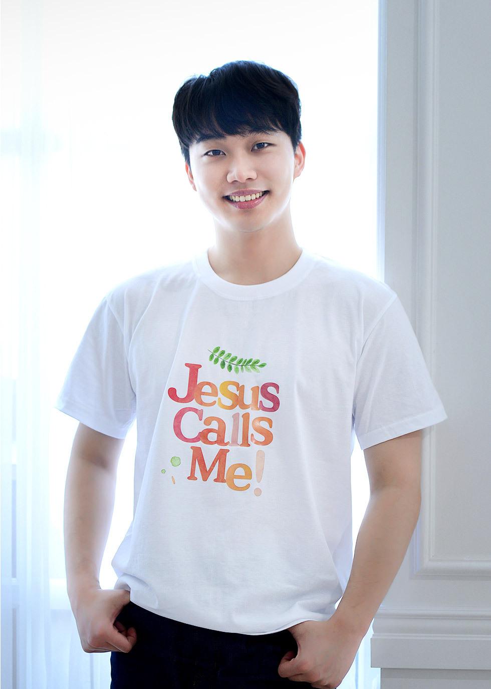 예수님이 부르세요, Jesus calls me - 성인티셔츠(콜미) 티셔츠 강점