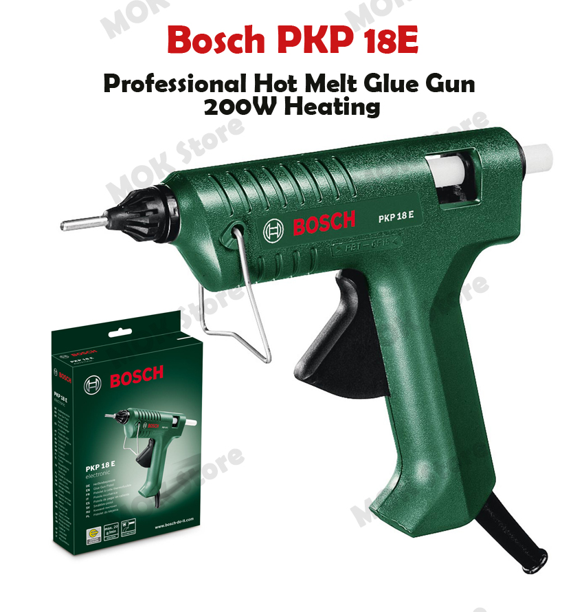bosch pkp professional 18e hot melt glue gun 200w heating in gluestick 220v only ebay. Black Bedroom Furniture Sets. Home Design Ideas