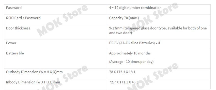 SAMSUNG DIGITAL DOORLOCK EZON KEYLESS Door Lock SHS-G510