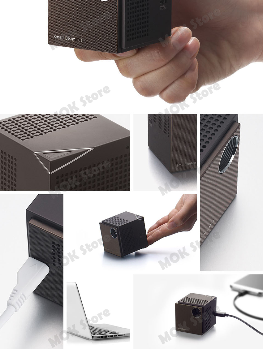 new sk smart beam uo laser mini laser projector focus free