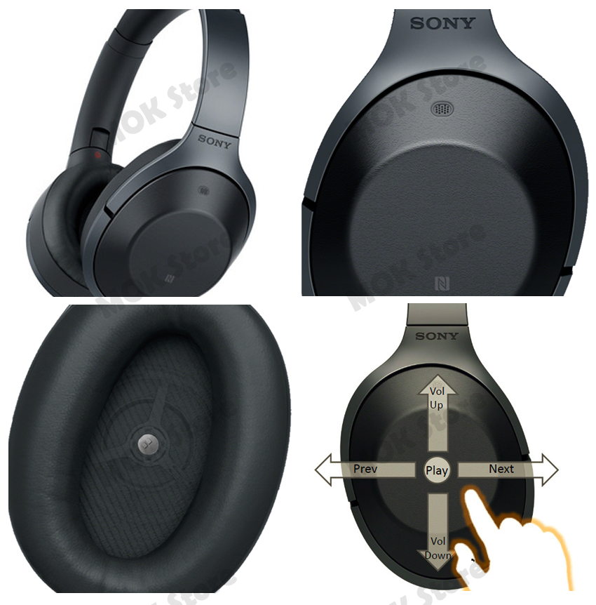 sony noise cancelling headphones manual