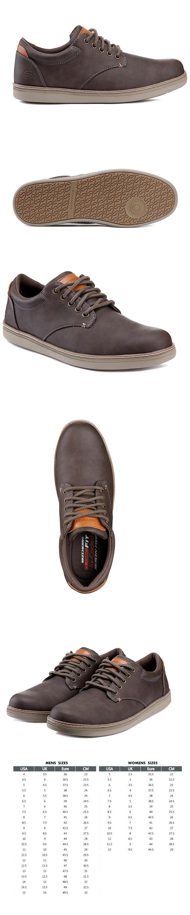 Limpiamente posponer Ortodoxo  Skechers Helmer Steven Men's Casual Shoes SL0MF18X851 | eBay