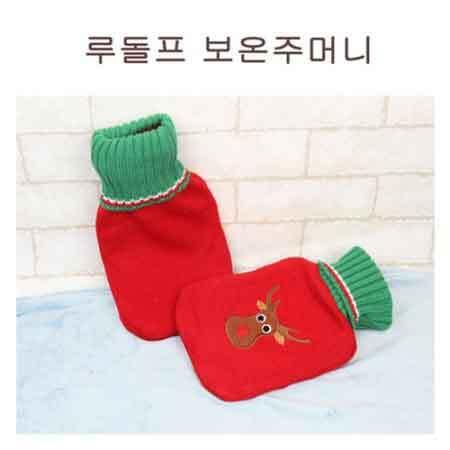 [O-life]  크리스마스 냉/온겸용 찜질 주머니 (루돌프) 이미지