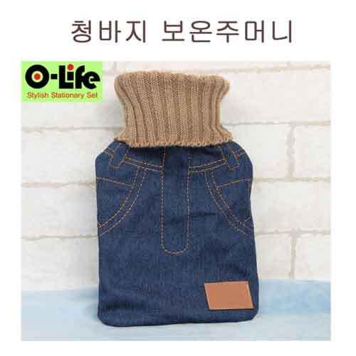 [O-life]  냉/온겸용 찜질 주머니 (청바지) 이미지