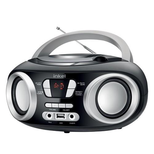 인켈 휴대용 CD플레이어 IK-CD315 FM라디오 USB AUX 이미지