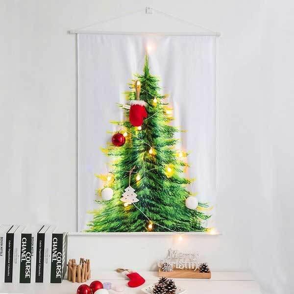 레토 크리스마스 패브릭 벽트리 LED앵두전구 세트 LML-CF01 이미지