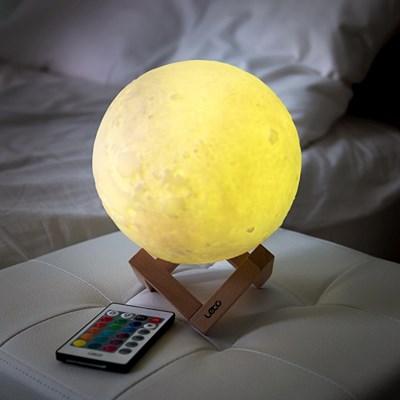 레토 16컬러 3D 입체 달 무드등 LED 조명 스탠드 LML-M20 이미지