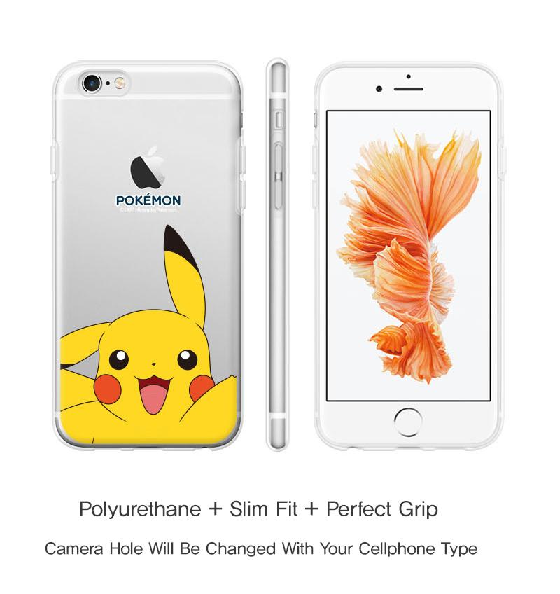 Pokemon Gel Case for Apple iPhone 6 6s